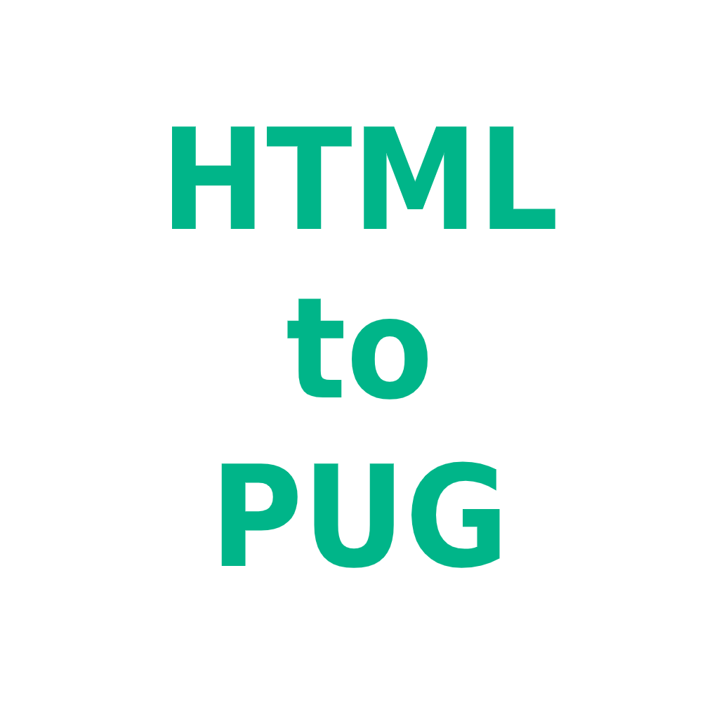 Web Application HTML to PUG by Florian Chrometz